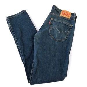 LEVI'S 511 W32 L34 Men's Blue Wash Denim Jeans